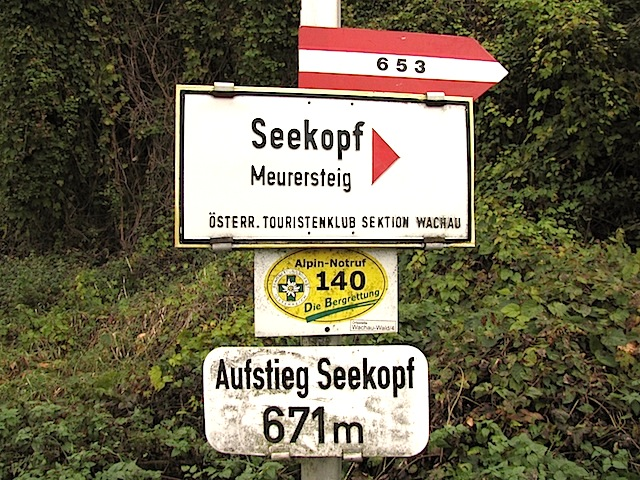 Ausgangspunkt Oberkienstock