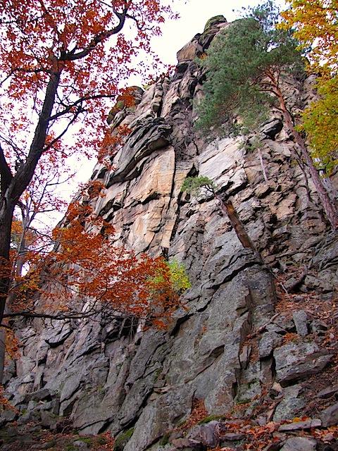 Am Fuß der Kienstockspitze