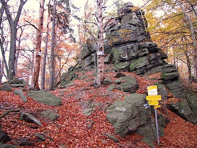 Der Pass bei der Hirschwand