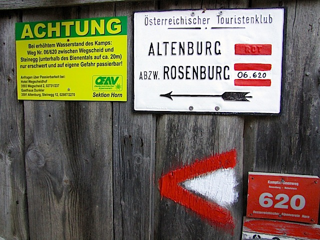 Hinweis Steinegg
