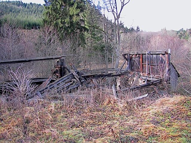 Reste der Königsmühle