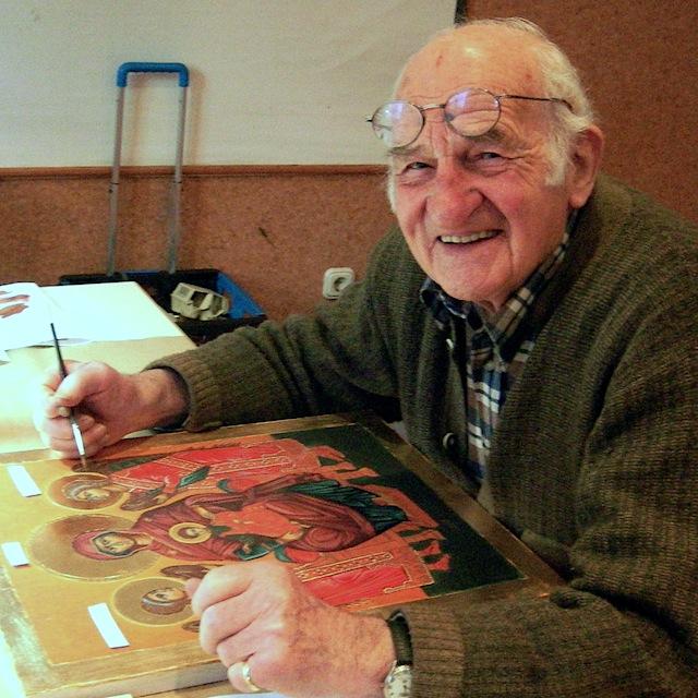 Ikonenmaler Lorenz Steinlechner