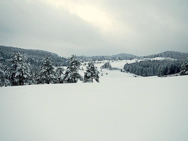Blick Richtung Kleinnondorf