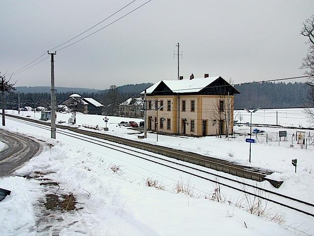 Bahnhof Allentsteig !