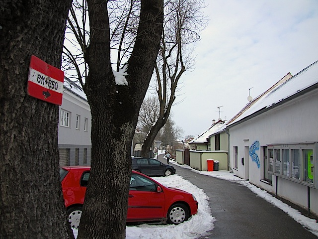 Weghubergasse