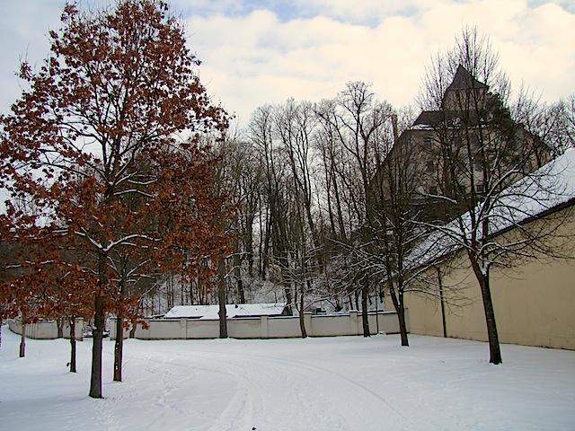 Schlossparkmauer