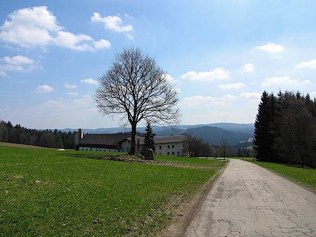 Blick zurück zum Kühlhof