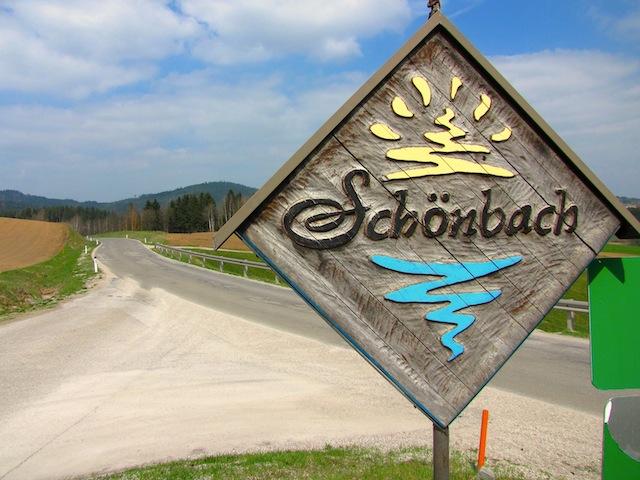 Schönbach Ortsende