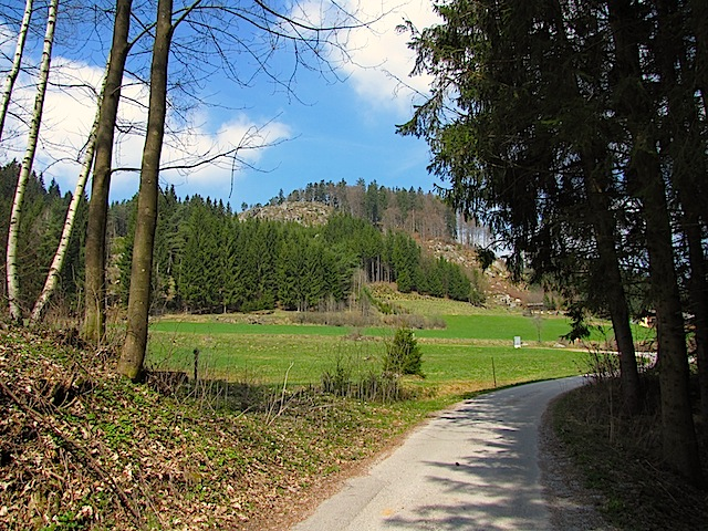 Richtung Kietzlermühle