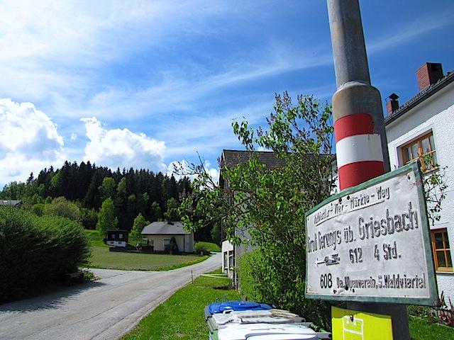 Abzweigung in Kamp