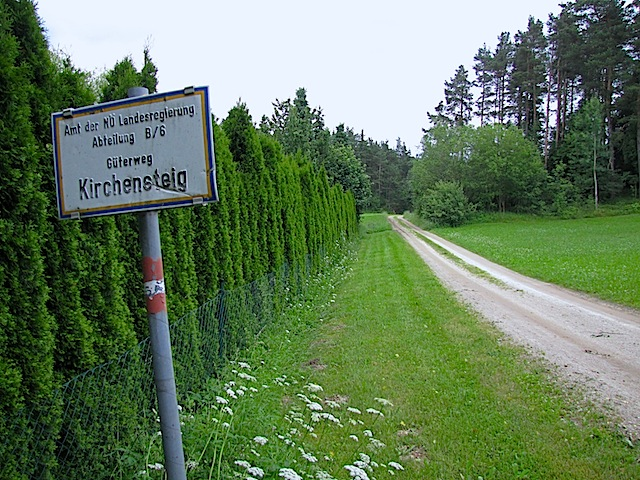 Güterweg Kirchensteig