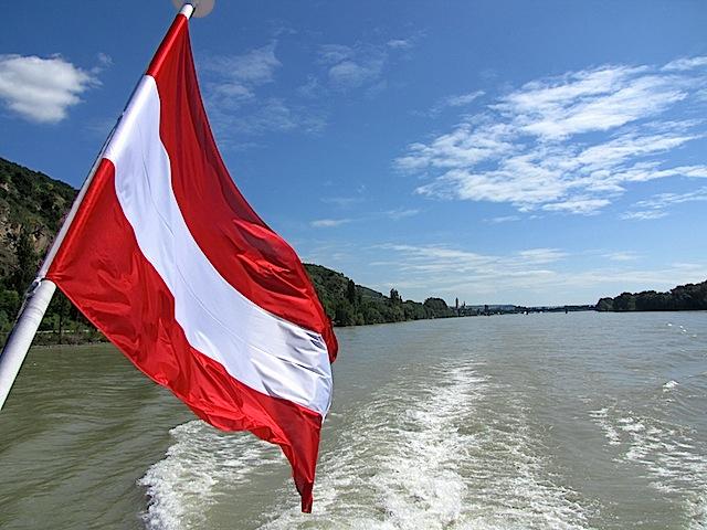 An Bord der MS Austria