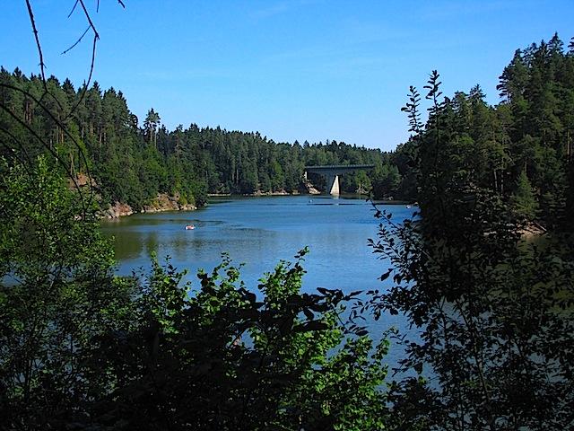 Blick zur Purzelkampbrücke
