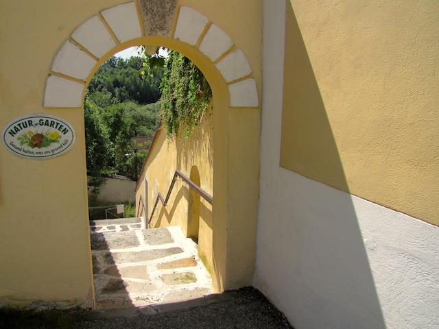 Zugang Terrassengärten