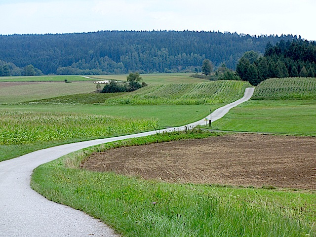 Richtung Schwarzenau