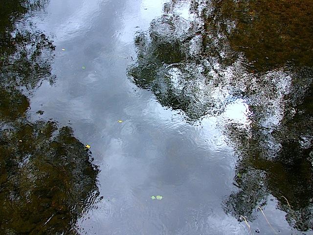 Der Himmel im Wasser
