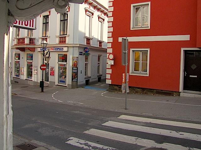 Richtung Habsburggasse