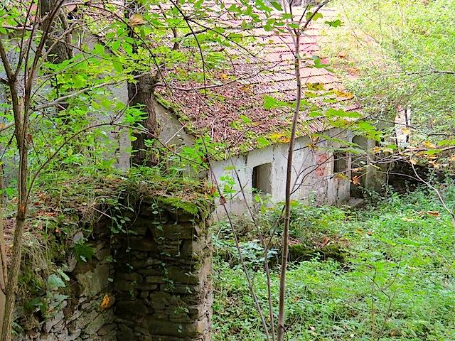 Aufgelassenen Mühle