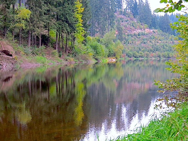 Fjord des Sprögnitzbaches