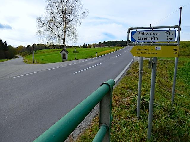 Abzweigung Elsenreith