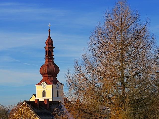 Kirchturm Ottenschlag
