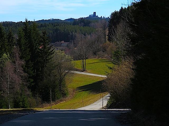 Blick nach Arbesbach