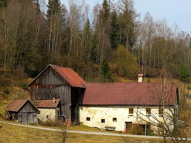 aufgelassenen Hahnmühle