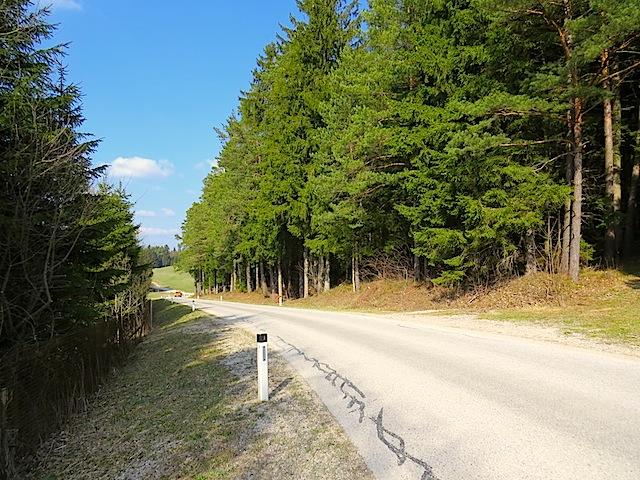 Straßenstück