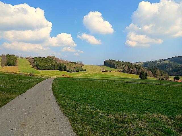 Richtung Marbach