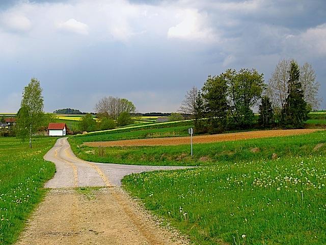 Richtung Süßenbach
