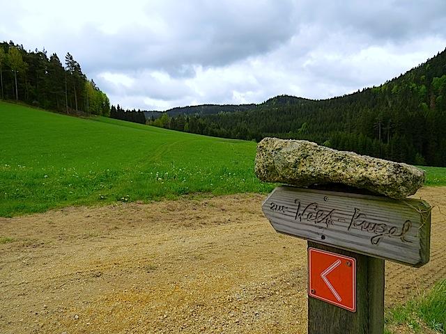 Abzweigung Wiesenweg