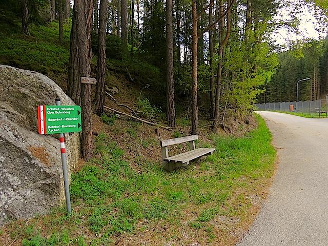 Start beim Waldbad
