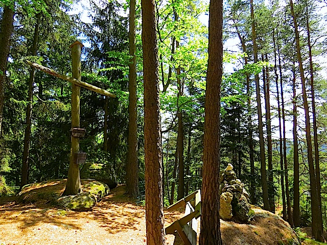 Gipfelkreuz Felsberg