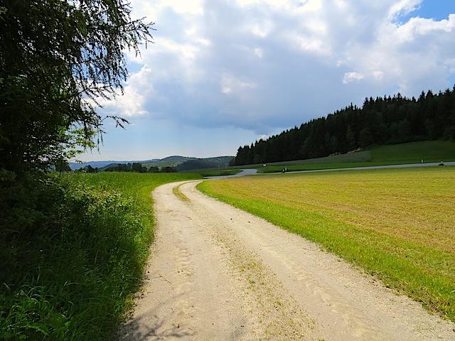 Richtung Bundesstraße