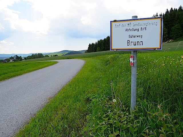 Güterweg Brunn