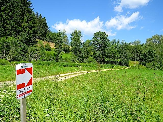Richtung Frauendorf