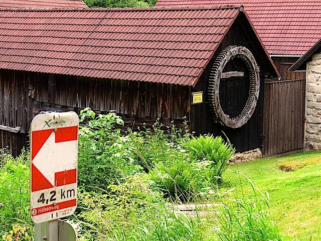 Abzweigung Klausmühle