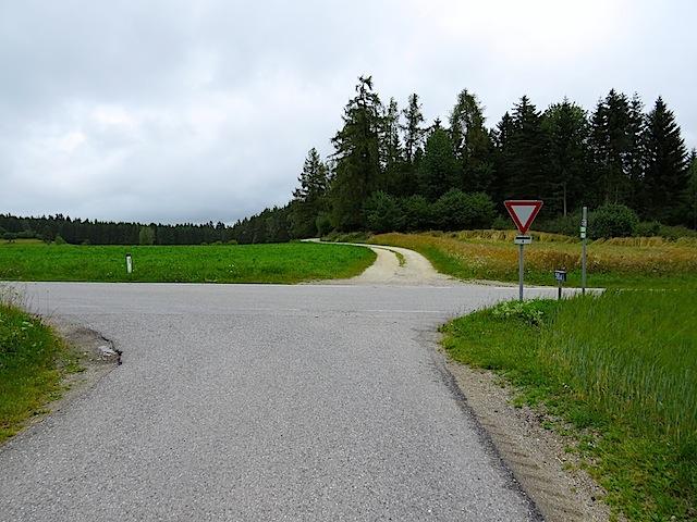 Überquerung Bundesstraße