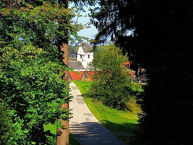 Blick nach Sallingstadt