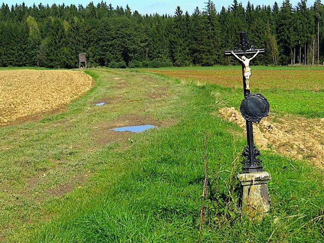 Wegkreuz bei Streitbach
