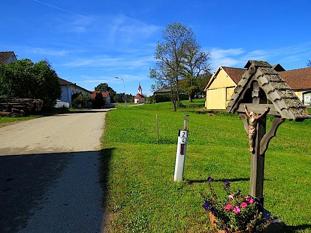 Kleines Holzkreuz