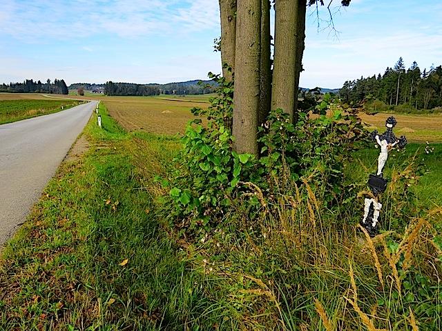Wegkreuz bei Brunnhöf