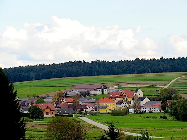 Blick auf Sallingstadt