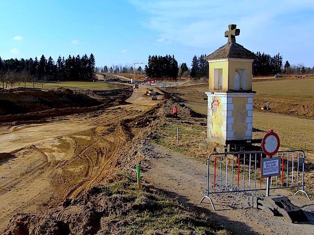 B38 westlich von Stift Zwettl