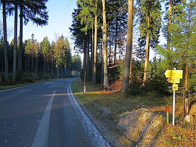 Straße bei Gutenbrunn