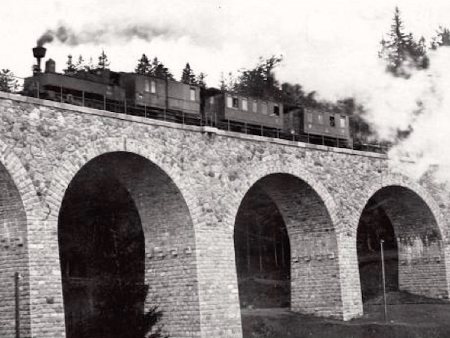 Viadukt um 1910