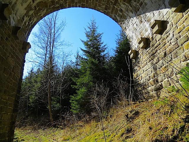 Viadukt Wanderweg