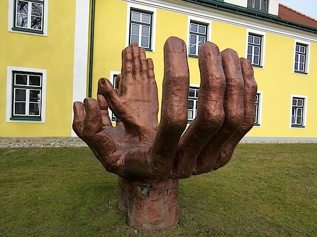 Skulpturenreiches Zwettl - Beschriftung