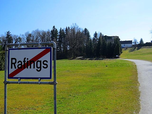 Richtung Rafingsberg