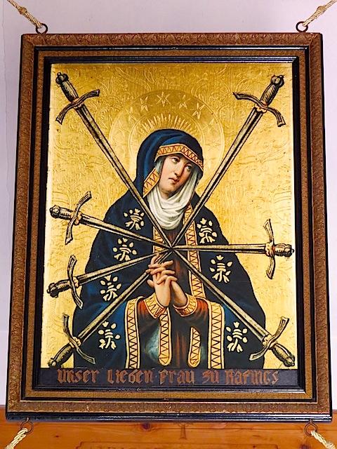 Maria mit den Sieben Schmerzen